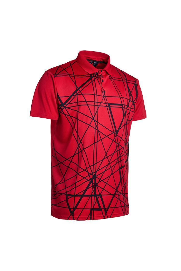 Picture of Abacus Men's Kurt Polo Shirt - Red