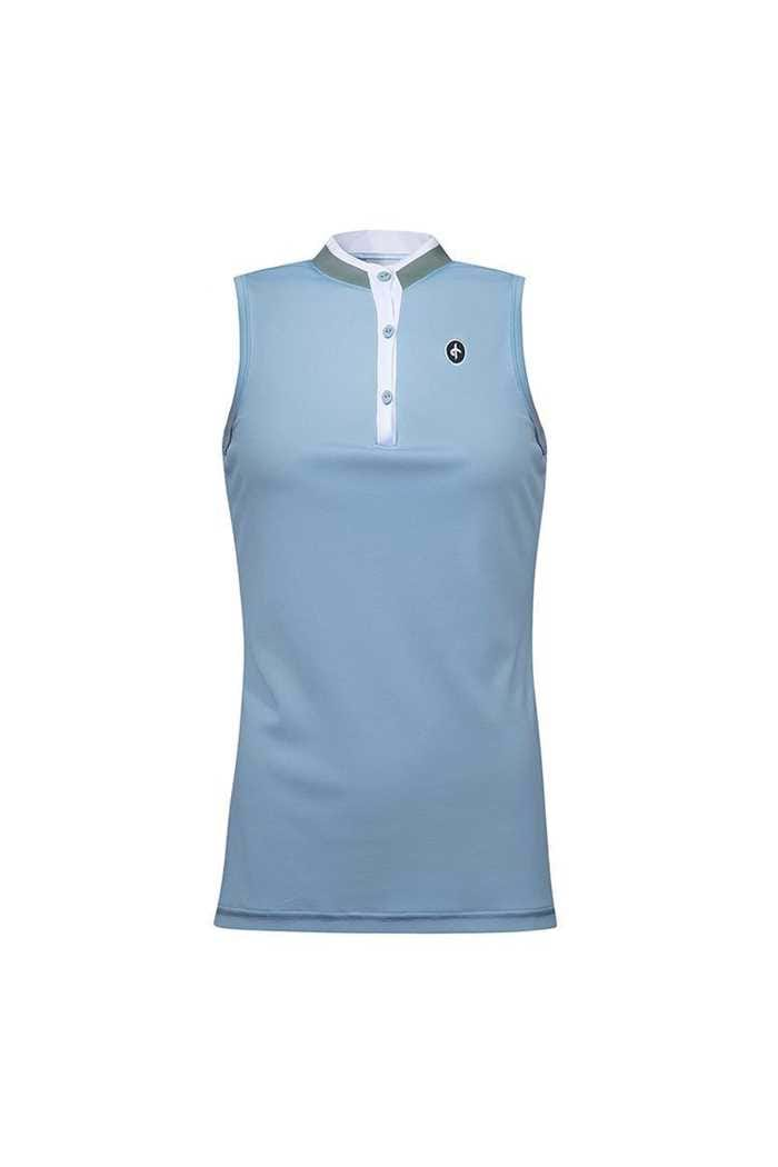 Picture of Cross Sportswear Women's Sally Sleeveless Polo Shirt - Forever Blue