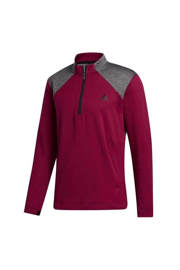Picture of adidas COLD RDY 1/4 Zip Sweater - Power Berry